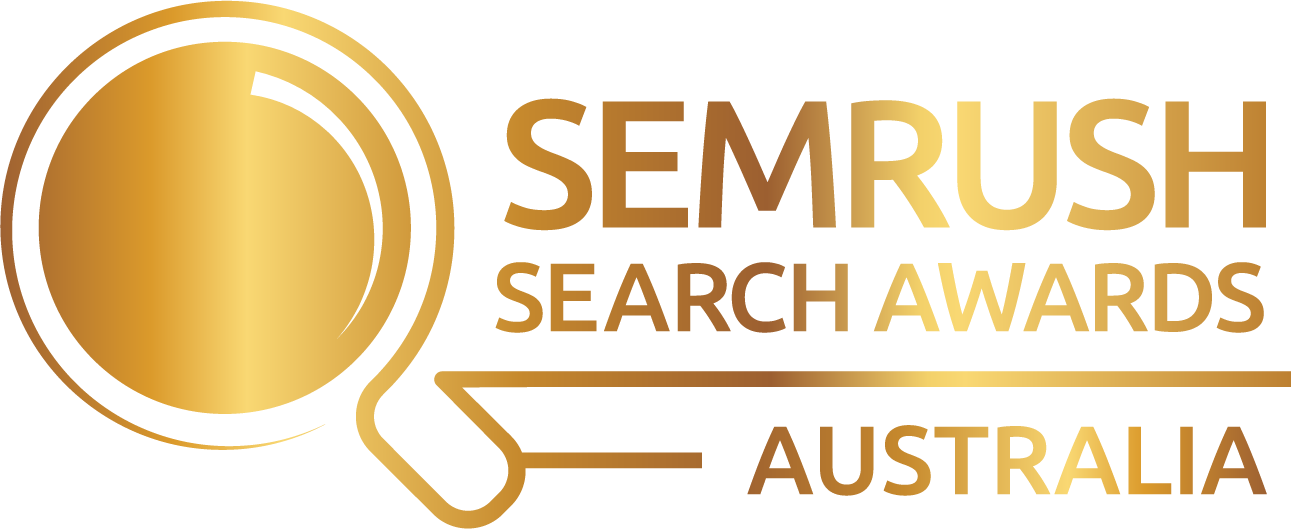 SEMrush AU Search Awards logo